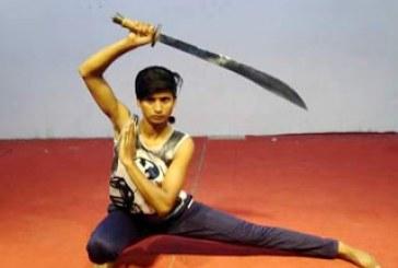 सब्जी बेचनेवाली अंशु आज है वुशू (मार्शल आर्ट) की नेशनल प्लेयर