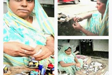 काम बुरा नहीं तो ऊँगली उठानेवालों की परवाह नहीं : सीता देवी, बिजली मिस्त्री