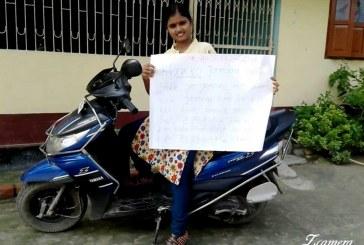 गांव-गांव में बाल विवाह के विरुद्ध अलख जगा रही हाजीपुर की चंदा ठाकुर
