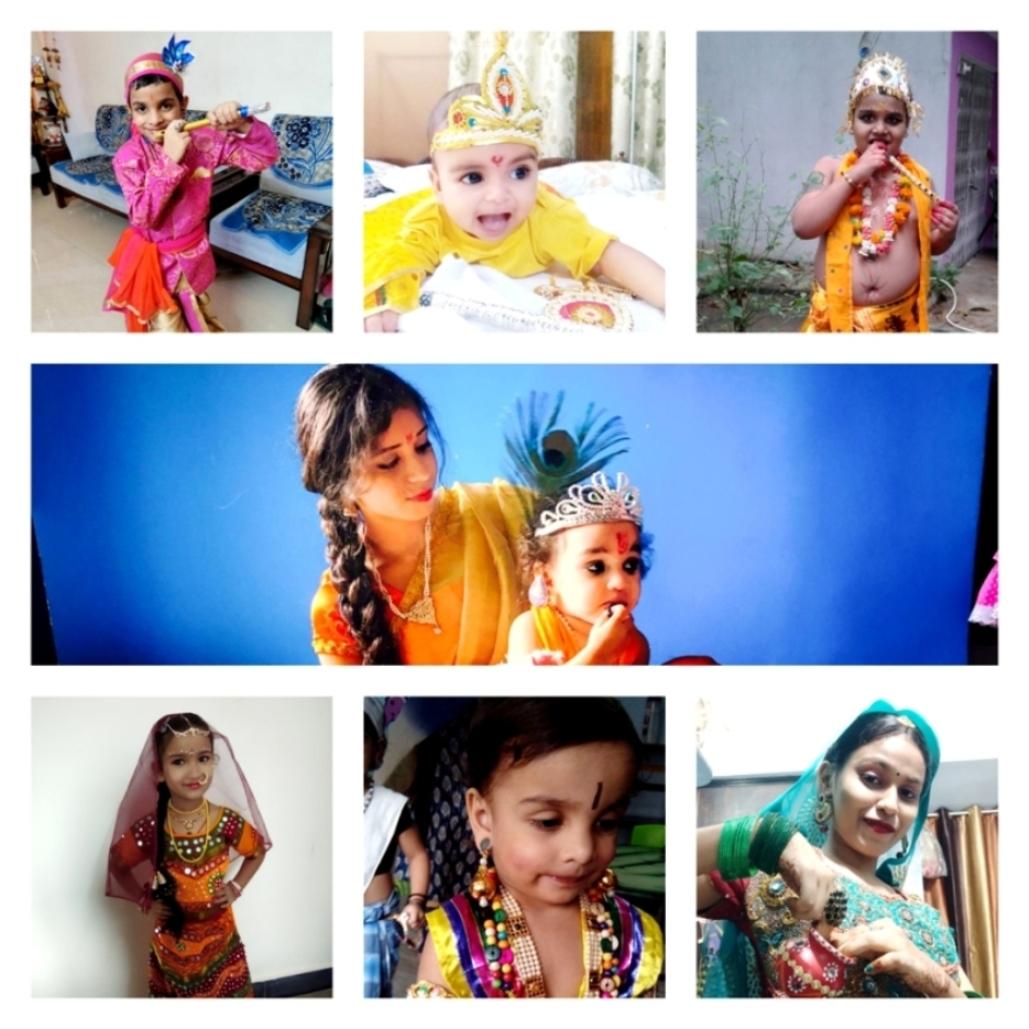 श्री सच्चा कला केंद्र ने आयोजित कराई ऑनलाइन राधा-कृष्ण रूपसज्जा प्रतियोगिता