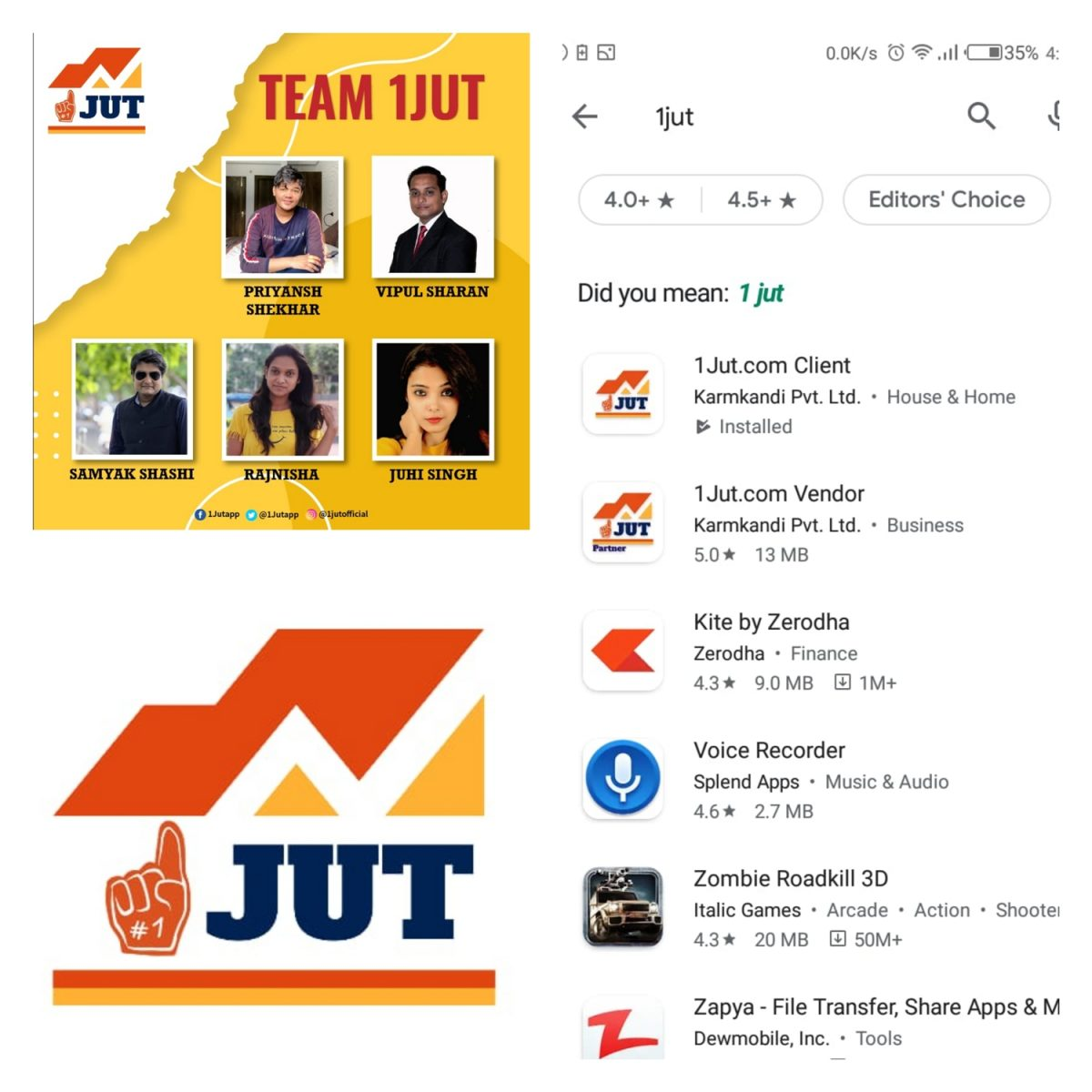 घर बैठे रोजमर्रा की सेवाएं प्रदान करने के लिए पटना के युवाओं ने ईजाद किया 1JUT ऐप