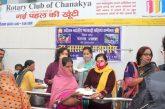 मारवाड़ी महिला समिति ने मकर संक्रांति पर जरूरतमंदों के बीच किया चूड़ा, दही, गुड़ का वितरण