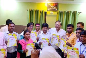 बिहार सचिवालय सेवा संघ के चुनाव में नवनिर्वाचित सदस्यों को मिला प्रमाणपत्र