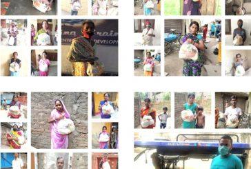 'बोलो ज़िन्दगी' टीम ने जरूरतमंदों के बीच किया राशन सामग्री का वितरण