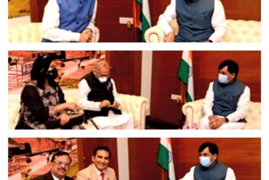 बिहार में दुनिया का सबसे बेहतरीन फ़ूड पार्क बनाएंगे : श्री शाहनवाज़ हुसैन, उद्योगमंत्री, बिहार